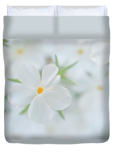 White Beauty Duvet Cover