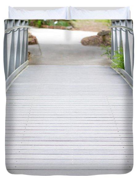 White Bridge Duvet Cover