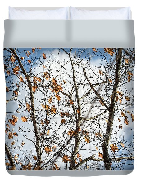 White Cloud In The Middle - Duvet Cover