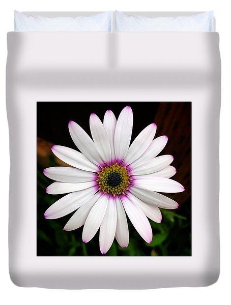 White Daisy Duvet Cover