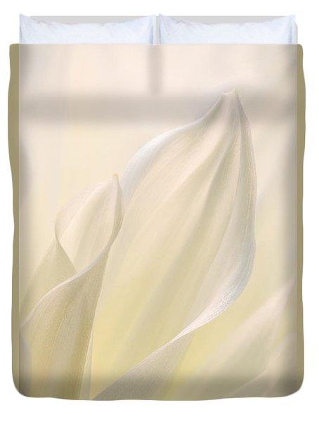 White Delicacy Duvet Cover