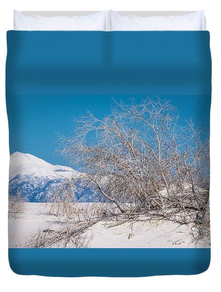 White Desert Duvet Cover