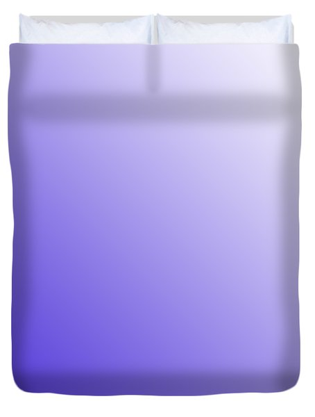 White Diagonal Ombre Duvet Cover