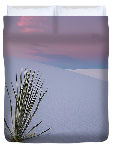White Dunes Duvet Cover