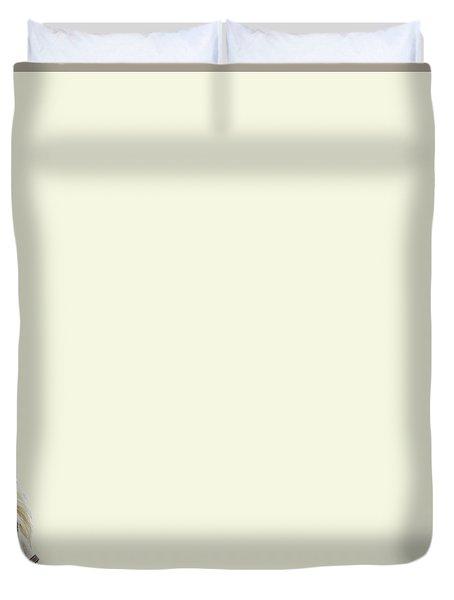 White Hourse Duvet Cover
