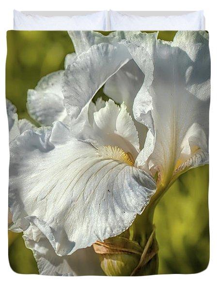 White Iris June 2016.  Duvet Cover