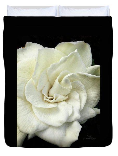 White Knight Duvet Cover
