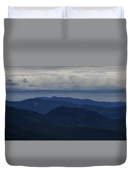 White Mountain Storm Duvet Cover