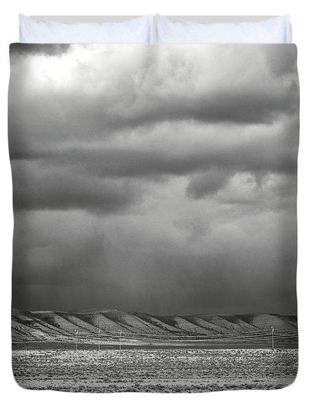 White Mountain Duvet Cover