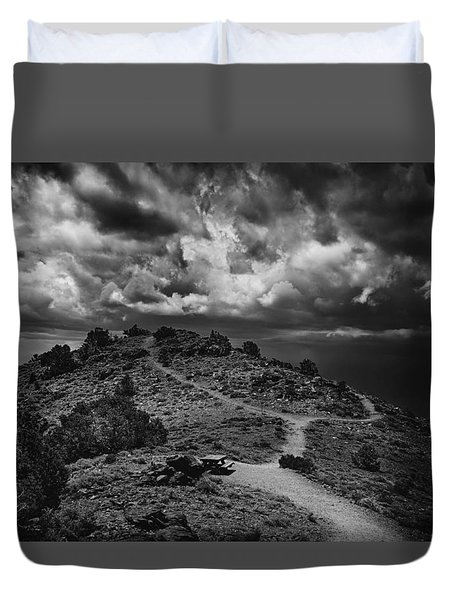 White Mountains 2 Duvet Cover