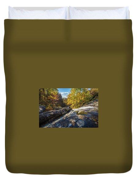 White Oak Canyon Duvet Cover