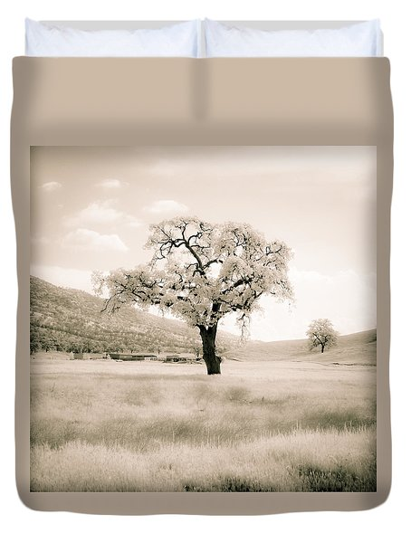 White Oak Duvet Cover
