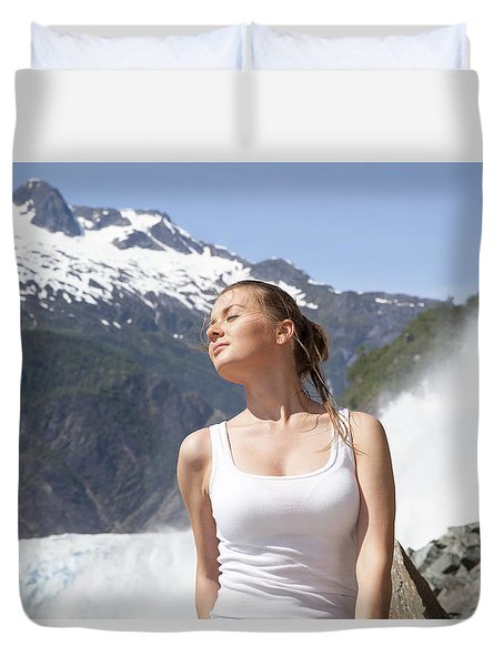 White Passion Duvet Cover