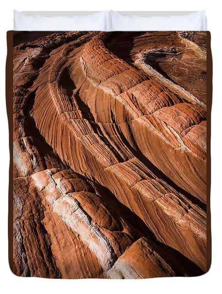 White Pocket Arizona Duvet Cover