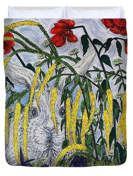 White Rabbit Duvet Cover