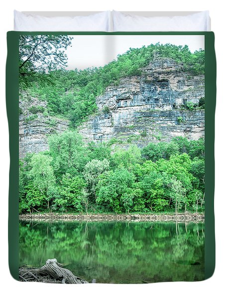 White River, Arkansas 4 Duvet Cover