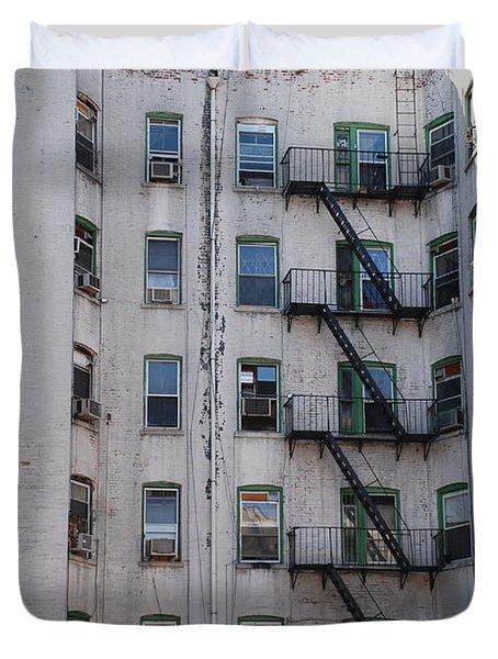White  Duvet Cover by Rob Hans