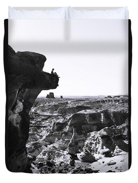 White Rocks Duvet Cover