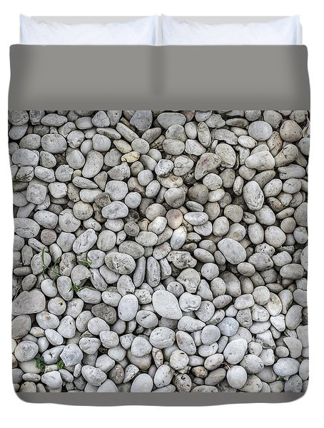 White Rocks Field Duvet Cover