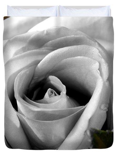 White Rose 2 Duvet Cover