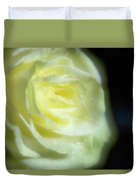 White Rose 4 Soft Duvet Cover