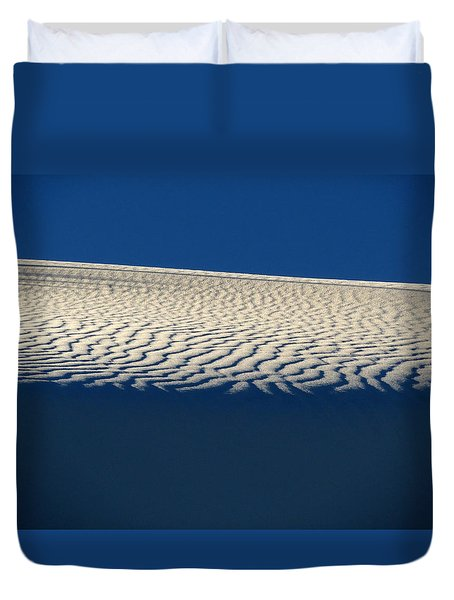 White Sands #4 Duvet Cover by Cindy McIntyre