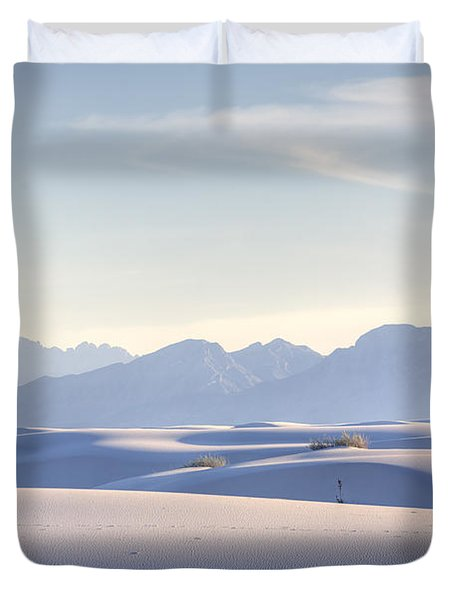 White Sands Blue Sky Duvet Cover
