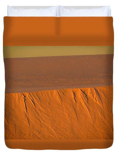 White Sands Dawn #12 Duvet Cover by Cindy McIntyre