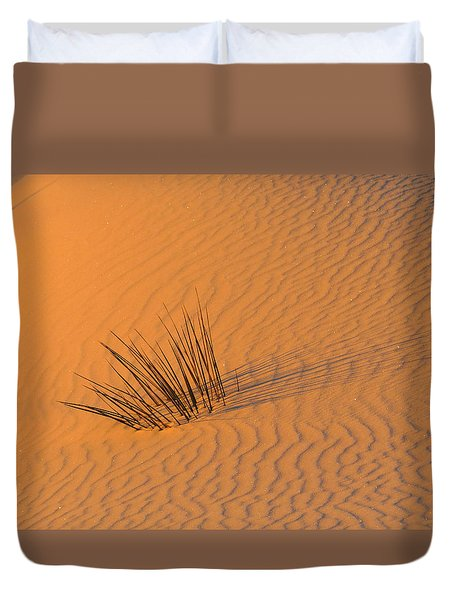 White Sands Dawn #20 Duvet Cover by Cindy McIntyre