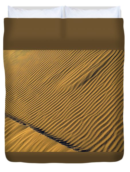 White Sands Dawn #60 Duvet Cover by Cindy McIntyre