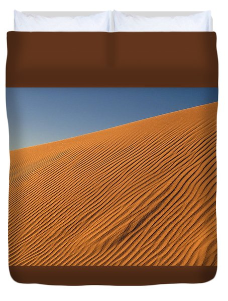 White Sands Dawn #61 Duvet Cover by Cindy McIntyre