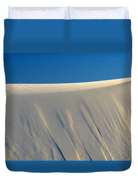 White Sands Dawn #65 Duvet Cover by Cindy McIntyre