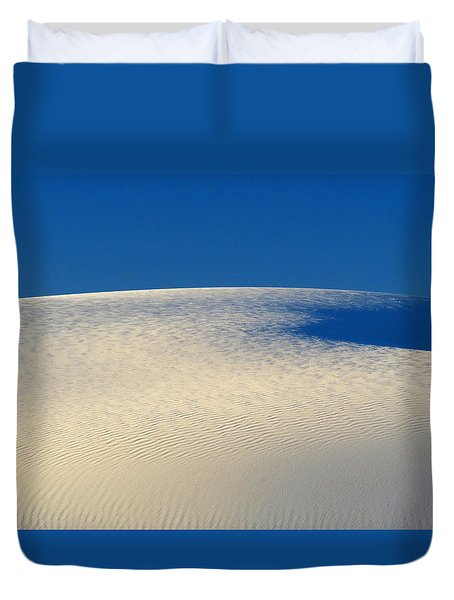 White Sands Dawn #68 Duvet Cover by Cindy McIntyre