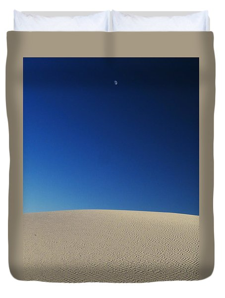 White Sands Evening #8 Duvet Cover by Cindy McIntyre