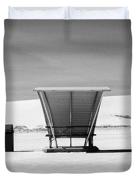White Sands National Monument #10 Duvet Cover