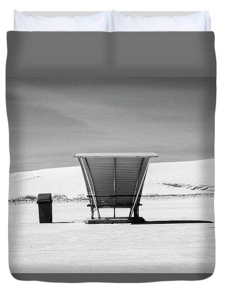 White Sands National Monument #10 Duvet Cover