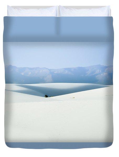 White Sands, New Mexico Duvet Cover