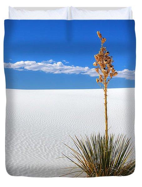 White Sands Yucca Duvet Cover
