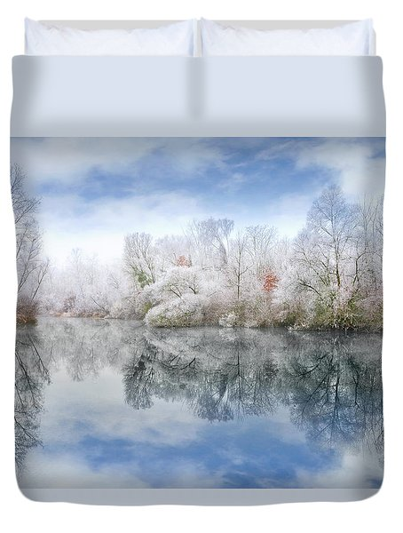 White Space Duvet Cover
