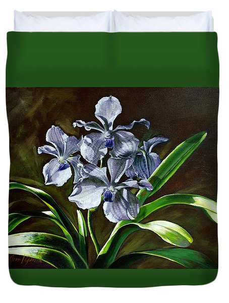 Morning Vanda Duvet Cover