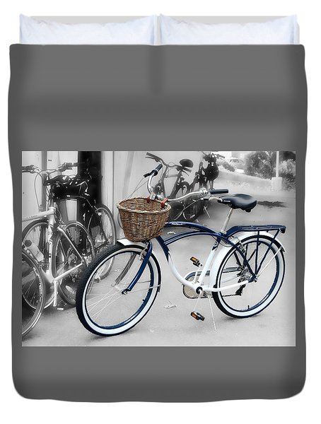 White Walls Duvet Cover by JAMART Photography