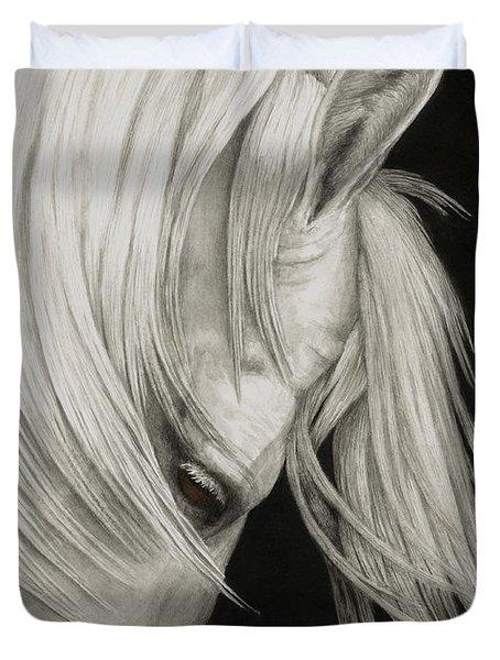 Whitefall Duvet Cover