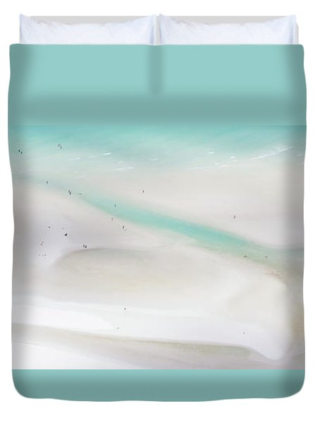 Duvet Cover featuring the photograph Whitehaven Wanderers by Az Jackson