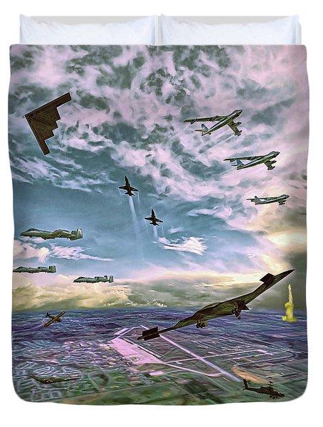 Whiteman Air Force Base Duvet Cover