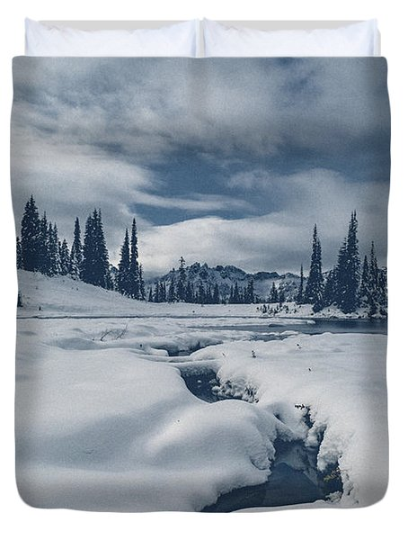 Whiteout Duvet Cover