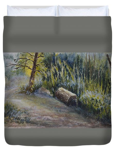 Whiteshell Trail Duvet Cover by Joanne Smoley