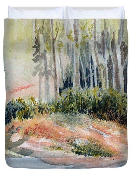 Whiteshell View Duvet Cover