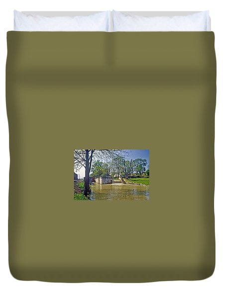 Whitewater Canal Metamora Indiana Duvet Cover