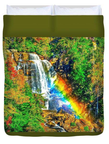 Whitewater Rainbow Duvet Cover