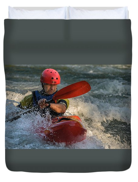 Whitewater Duvet Cover